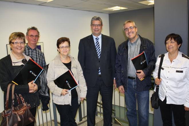 Conveni La Caixa 2012 signatura